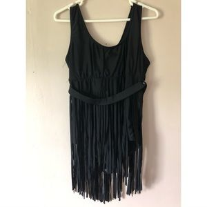 Other - Fringe One-Piece Swimsuit